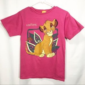 Disney Vintage The Lion King Simba Graphic T Shirt